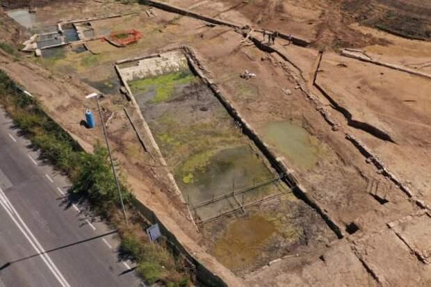 В окрестностях Рима найден озадачивший ученых 2300-летний бассейн
