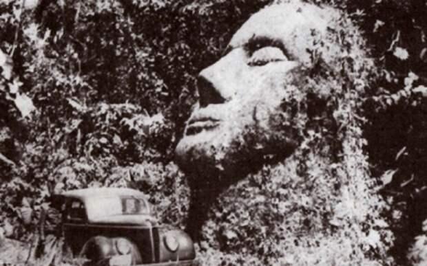 Загадка гигантской каменной головы из джунглей Гватемалы