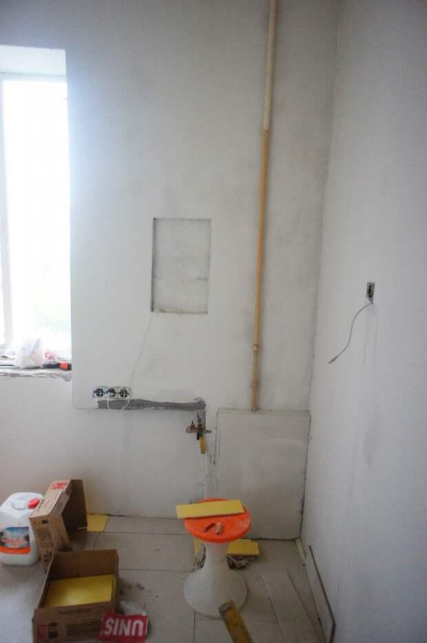 Капитальный ремонт на маленькой кухне
