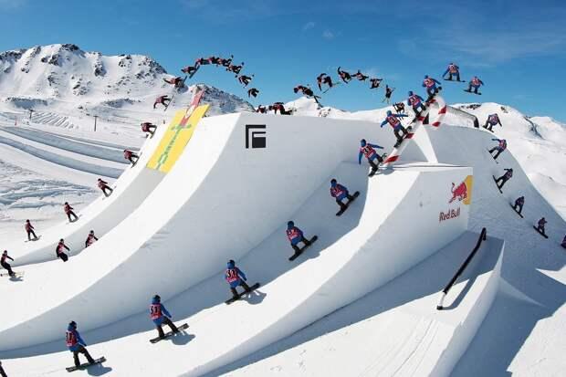 Лыжники против сноубордистов