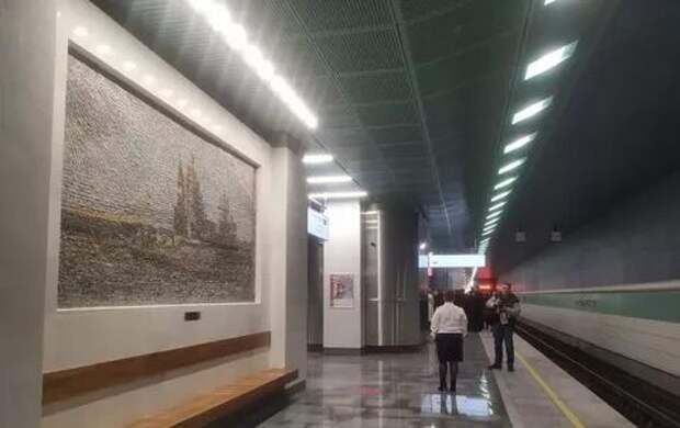Мэр Москвы Сергей Собянин открыл станцию метро «Беломорская»