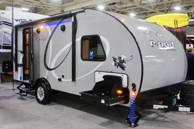 3. R-Pod от производителя Forest River выпускается в нескольких вариантах, в том числе с выдвижными модулями авто, дома на колесах, кемпинг, отдых, прицепы, трейлер, трейлеры, фото