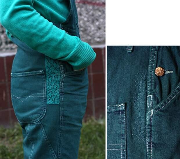 Обновление джинсового комбинезона