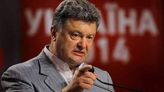 Порошенко поручил урегулировать конфликт в Донбассе «наступательным способом»