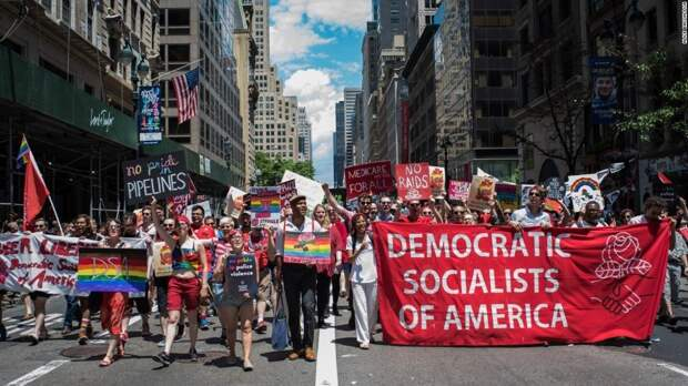 Американские левые такие же левые, как Байден - коммунист. Александр Роджерс