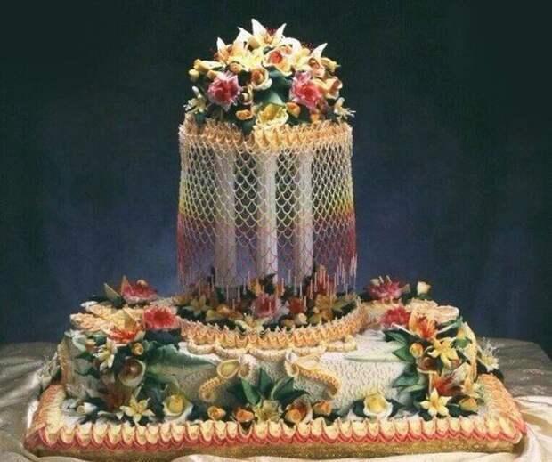 Феерия лилий еда, торт