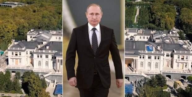 Дворец Путина, который снял Навальный: виноградники, комната для стриптиза  и склад грязи