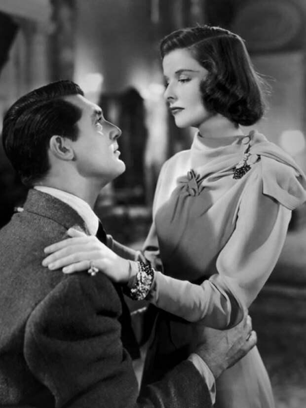 Кэтрин Хепбёрн и Кэри Грант в комедии 1938 года «Праздник».
