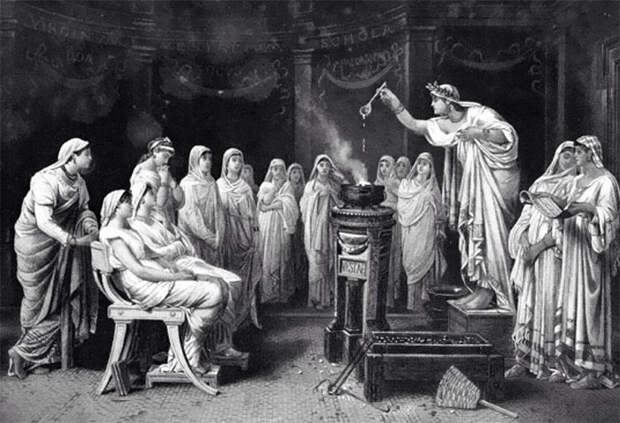Римляне высоко ценили чудодейственные свойства мочи.