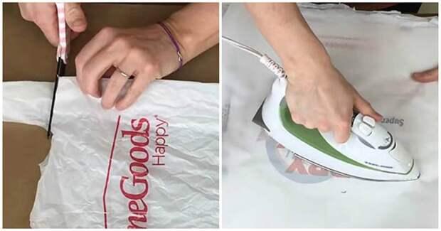 Практичная и полезная вещь для дома из обычных пакетов
