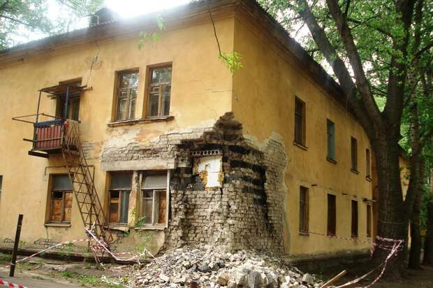 В России проживающие в ветхих домах получат новое жилье