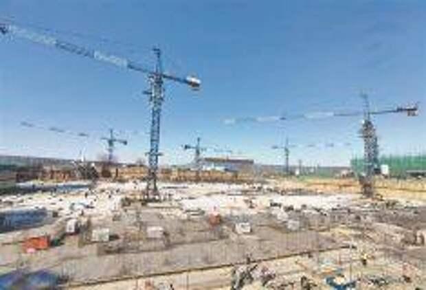 В Новом районе Харбина строительство киногородка мирового уровня идет полным ходом