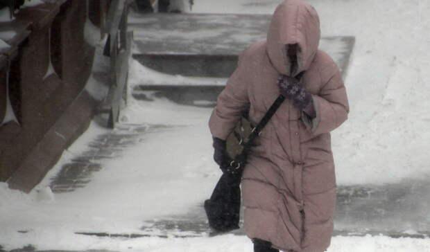 Синоптики продлили штормовое предупреждение до 25 февраля из-за морозов на Урале