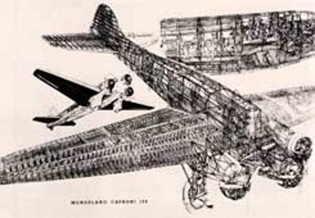 Бомбардировщик-транспортник Caproni Ca.132