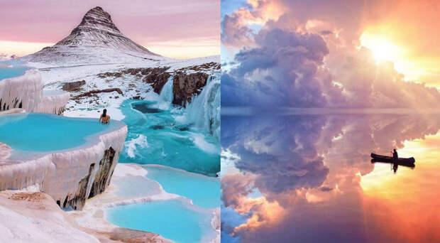 Художник создает миры настолько волшебными, что непонятно, где реальность, агде фантазия