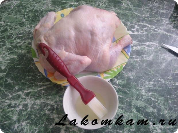 Рецепт блюда из мяса птицы «Золотая курочка»