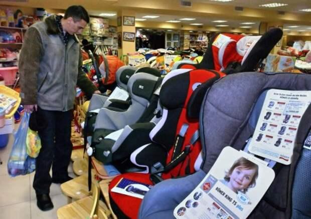 Нилов: несертифицированные кресла - лидер среди причин детского травматизма