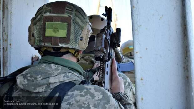ВСУ готовятся к зачистке Донбасса под руководством инструкторов США