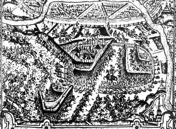 Восстание под предводительством И.И. Болотникова . 1606—1607. Извлечение из «Московской хроники» Конрада Буссова. 1610-е гг.