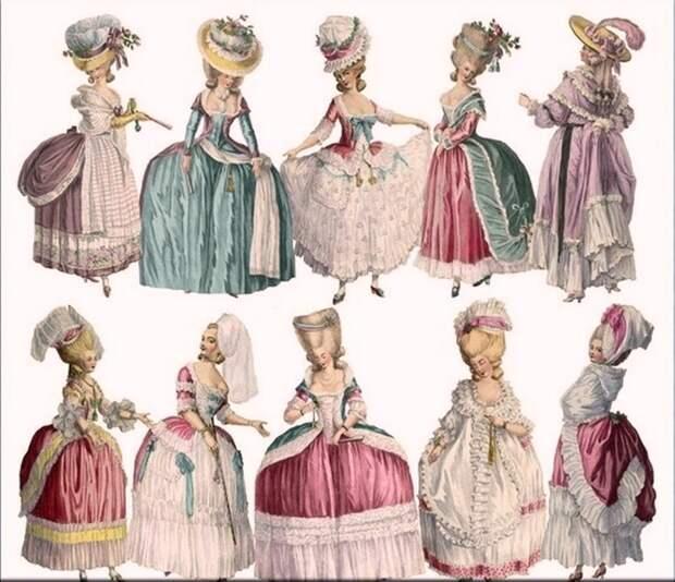 Мода - высокие технологии 300 лет назад.