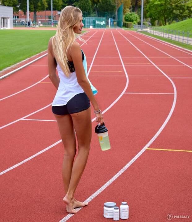 Alicia Schmidt секс-символ немецкого спорта