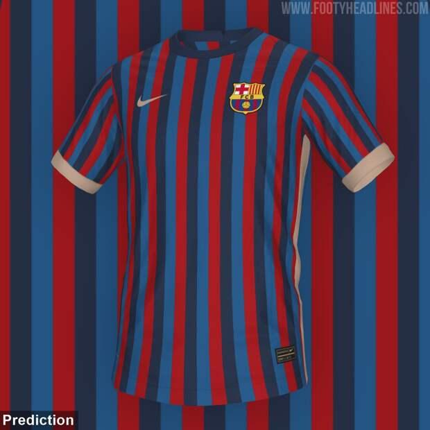 Домашняя форма «Барсы» на сезон-2022/23 будет трехцветной