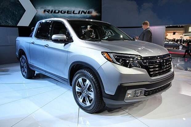 Honda Ridgeline начинает мятеж с новой силой