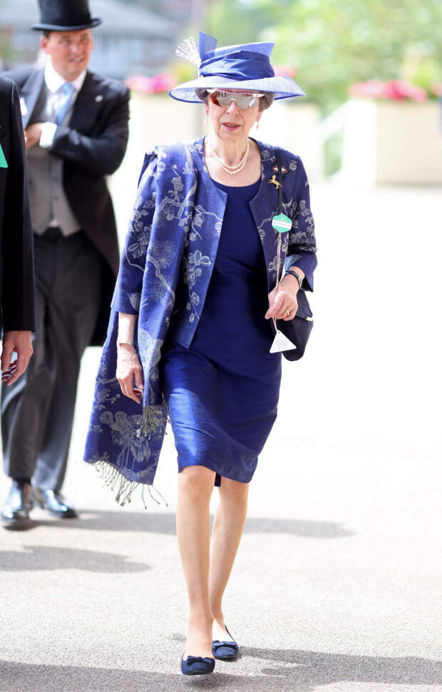 Принцесса Анна на Royal Ascot, 2021