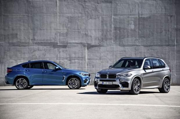 BMW X6 M и X5 M