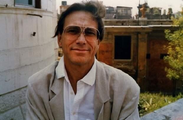 Андрей Кончаловский в Риме.