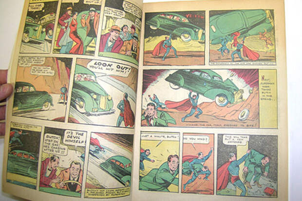 Первый комикс о Супермене продан за рекордную сумму