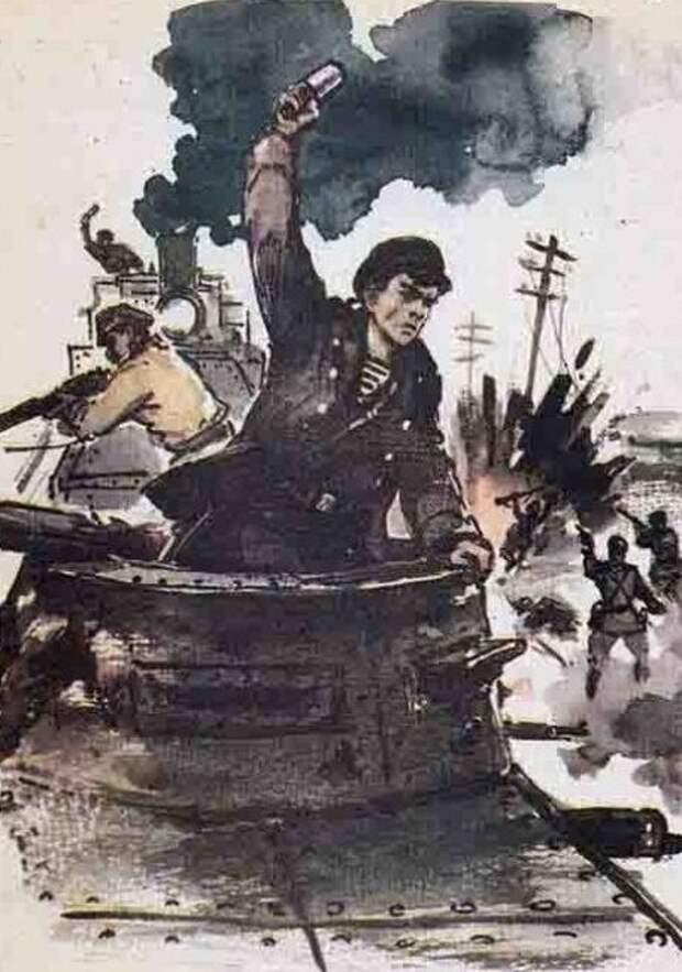 Как матрос и анархист Анатолий Железняков стал героем революции