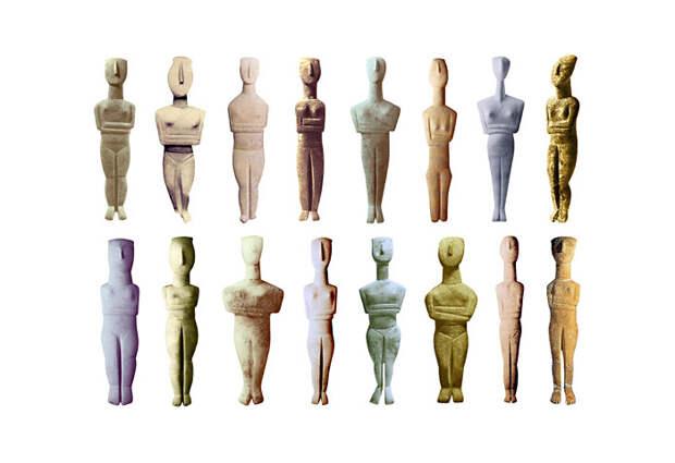 Скульптуры Кикландских Богинь
