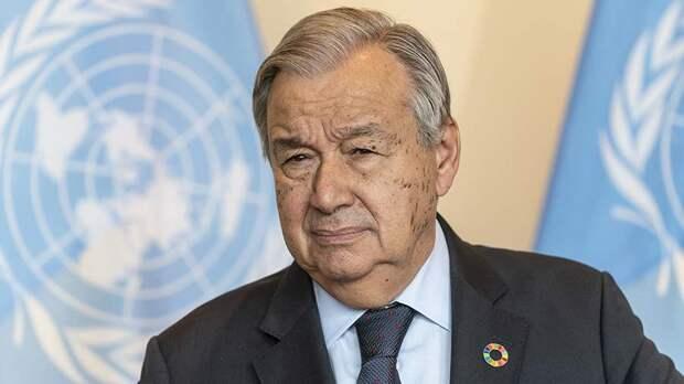 Генсек ООН заявил о максимальном уровне ядерной угрозы в мире за 40 лет