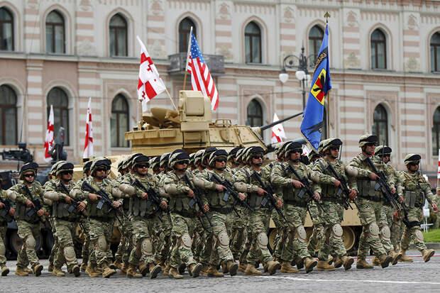 """Фото дня из Грузии.  День """"независимости"""""""