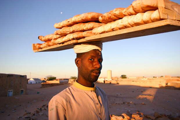 Портрет мужчины из Шингетти, Мавритания вокруг света, путешествия, фотография