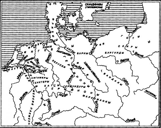 Древнегерманские племена