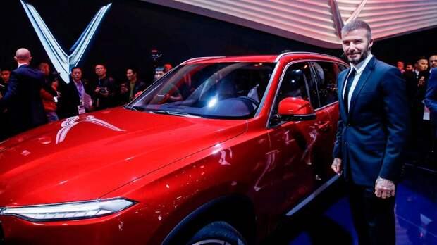 В Британии продают бывший автомобиль Бекхэма за €485 тысяч