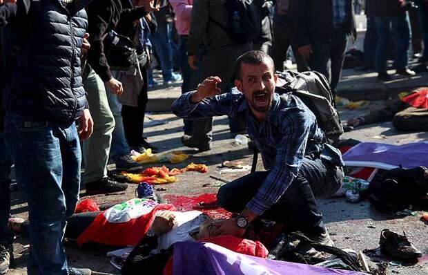 О взрывах в Анкаре: жестокая месть курдам, первые подозрения падают на ИГИЛ