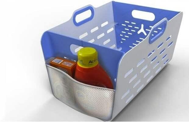 Компактная корзина для белья