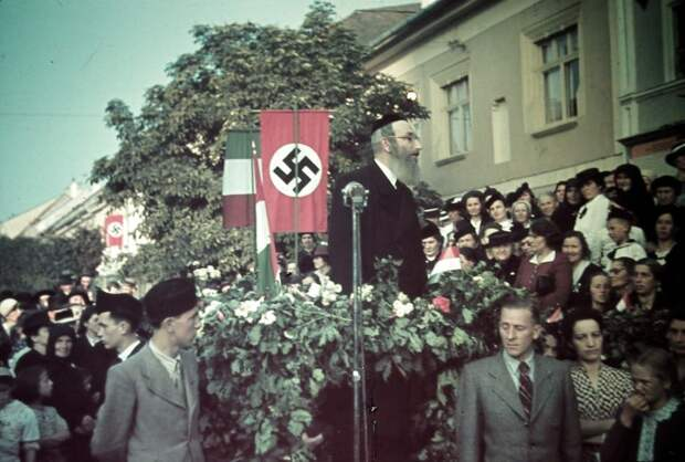 Венгрия присоединяет Трансильванию в 1940 году