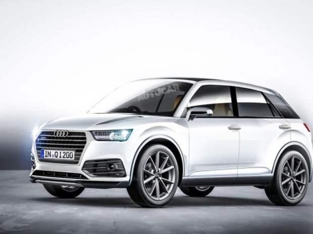 Audi подтвердила сроки выхода в продажу кроссовера Q1