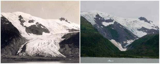 Земля тогда и сейчас. Колоссальные перемены в фотографиях NASA