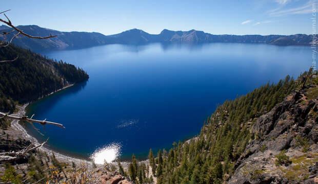 США. Национальный парк Озеро Крейтер