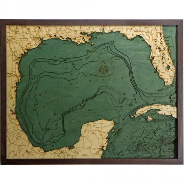 Карты лазером