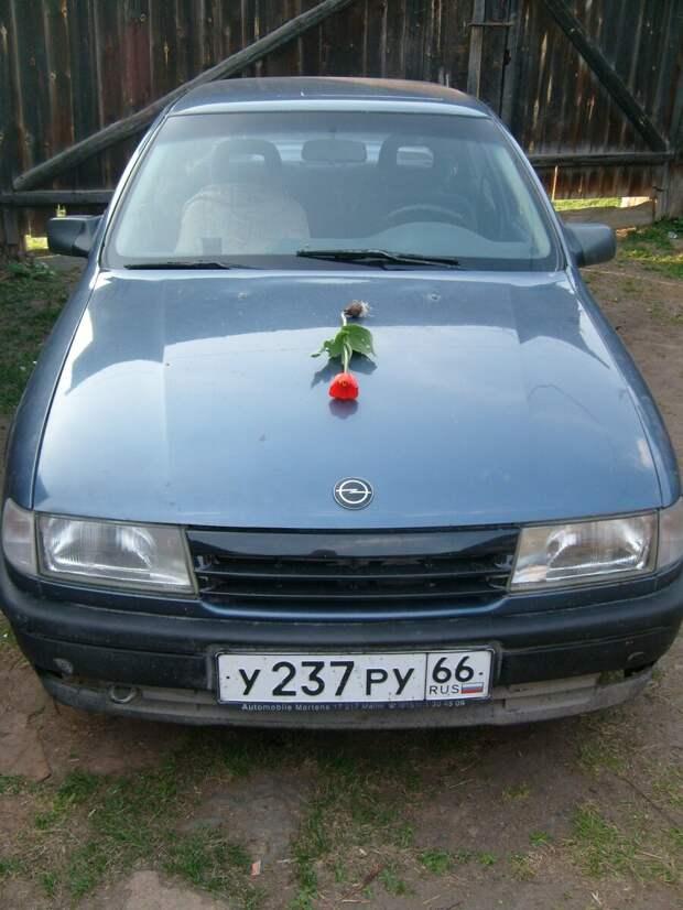 Opel Vectra A Мой первый конь, отзыв