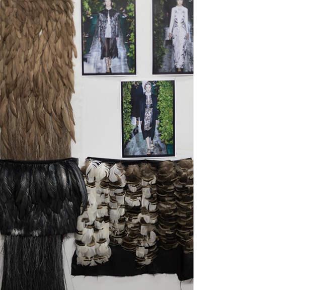 Работа Maison Lemarié для осенней коллекции Valentino Couture © lejournalflou.com
