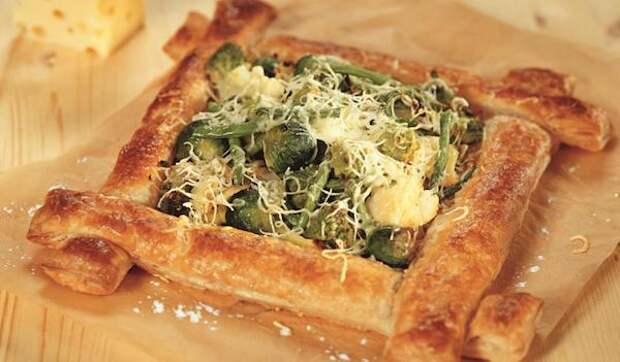 Зимний овощной пирог