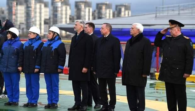 Открытие ледокола «Виктор Черномырдин»: Лучшая память о человеке — дать его имя кораблю