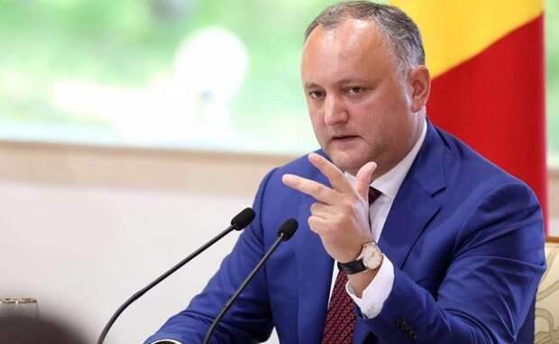 Додон: России иЕвросоюзу дестабилизация ненужна, аСША недонас